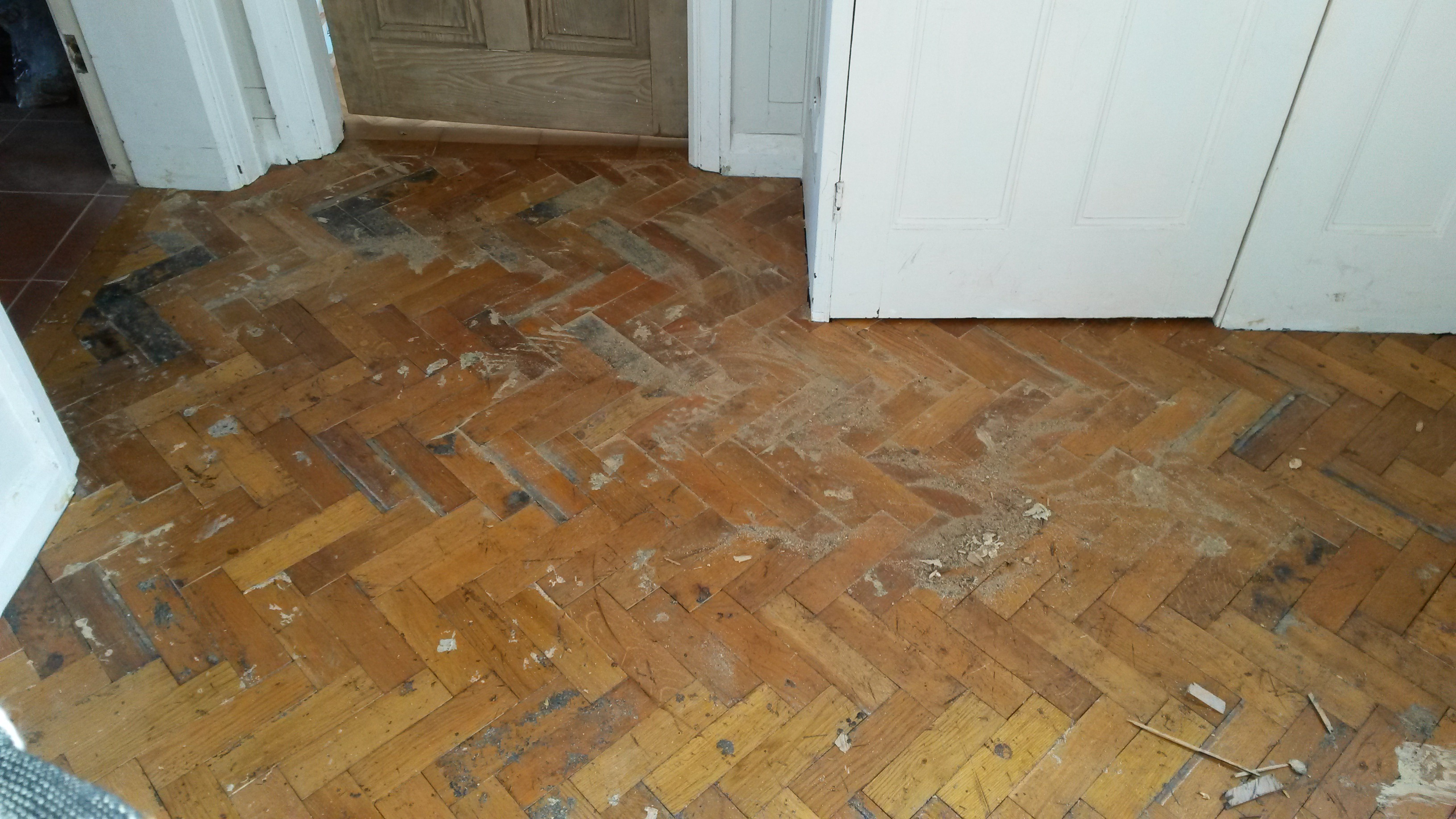 Reclaimed Parquet Fitting Service In London Floor